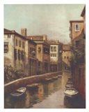 Waterways At Dawn Art Print