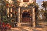 Augustine's Courtyard Art Print