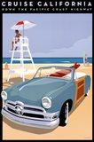 Cruise California Art Print