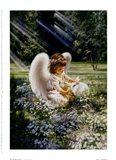 An Angel's Care Art Print