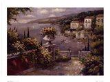 Capri Vista II Art Print