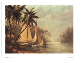 Rum Cay Art Print