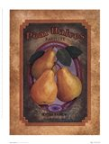 Pear Halves Art Print