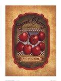 Sweet Cherry Pie Filling Art Print