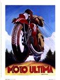 Moto Ultima Art Print