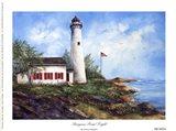 Sturgeon Point Light Art Print