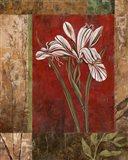 Jeweled Iris II Art Print