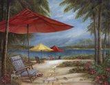 Relaxing Paradise I Art Print