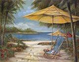 Relaxing Paradise II Art Print