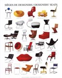 Designers' Seats Art Print