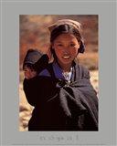 Nepal Mustang 1992 Art Print