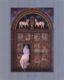 Temple's Door Art Print
