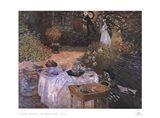 Luncheon in the Garden Art Print
