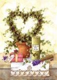 Botanical Body Powder Art Print