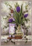 Lavender Body Oil Art Print