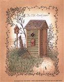 Old Backhouse Art Print