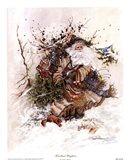 Woodland Wayfarer Art Print