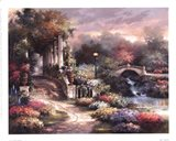 Classic Garden Retreat Art Print