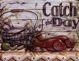 Fisherman's Catch III Art Print