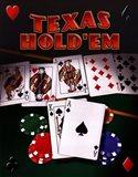 Texas Hold 'Em Art Print