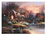 Country Quiet Art Print