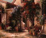 Garden Court Art Print
