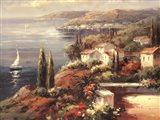 Mediterranean Vista Art Print