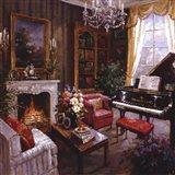 Grand Piano Room Art Print