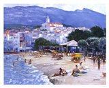 Along The Costa Brava Art Print