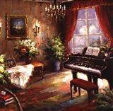 Music Parlor Art Print