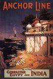 Gibraltar and India I Art Print
