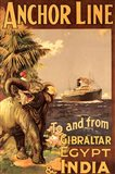 Gibraltar and India II Art Print