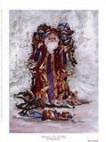 Christmas On Its Way Art Print