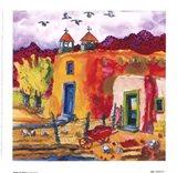 Flight At Dusk Art Print