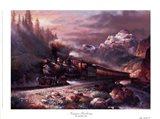 Canyon Railway Art Print