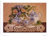 Tea And Lace I Art Print