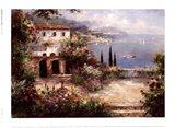 Mediterranean Villa Art Print