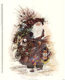 The Forest Gatherer Art Print