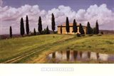 Tuscan Hillside #5 Art Print