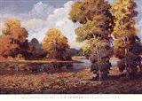 Clear Lake II Art Print