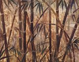 Bamboo Forest I Art Print