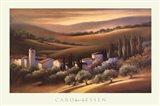 Tuscan Villa Art Print