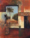 Palm Serenity II Art Print