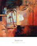 Palm View I Art Print