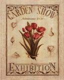 Garden Show II Art Print