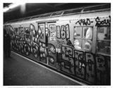 Take the E-Train Art Print