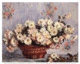 Basket of Chrysanthemums, c.1878 Art Print