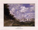 The Basin at Argenteuil Art Print