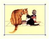 Cat Food Art Print