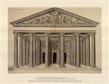Ordonnance d'un Portique, (The Vatican Collection) Art Print